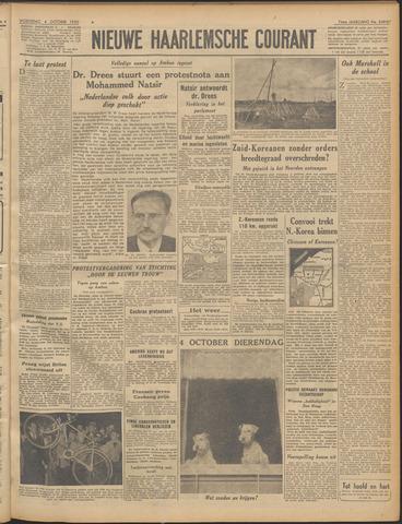 Nieuwe Haarlemsche Courant 1950-10-04