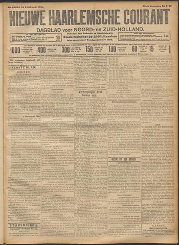 Nieuwe Haarlemsche Courant 1912-02-26