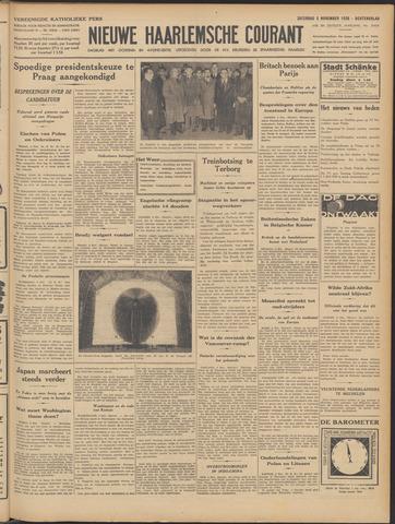 Nieuwe Haarlemsche Courant 1938-11-05