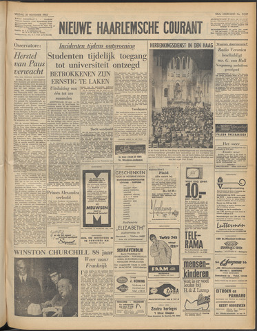 Nieuwe Haarlemsche Courant 1962-11-30