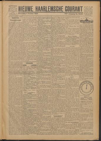 Nieuwe Haarlemsche Courant 1922-10-04