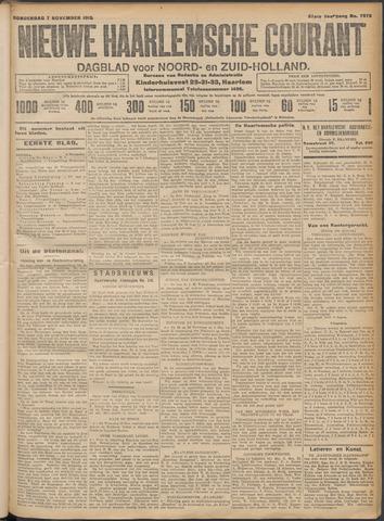 Nieuwe Haarlemsche Courant 1912-11-07