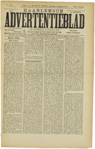 Haarlemsch Advertentieblad 1889-12-11