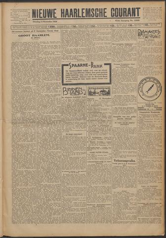 Nieuwe Haarlemsche Courant 1924-11-11
