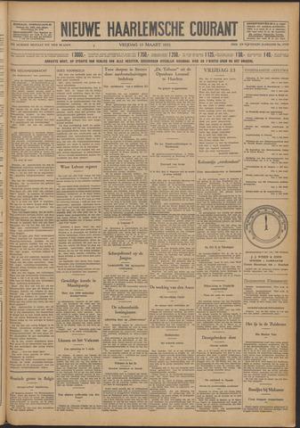 Nieuwe Haarlemsche Courant 1931-03-13