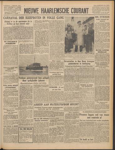 Nieuwe Haarlemsche Courant 1950-02-01