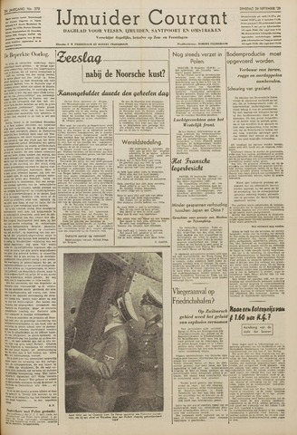 IJmuider Courant 1939-09-26