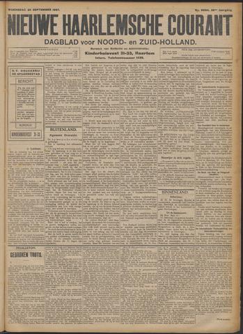 Nieuwe Haarlemsche Courant 1907-09-25