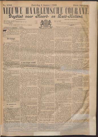 Nieuwe Haarlemsche Courant 1900-01-06