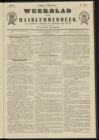Weekblad van Haarlemmermeer 1873-12-05