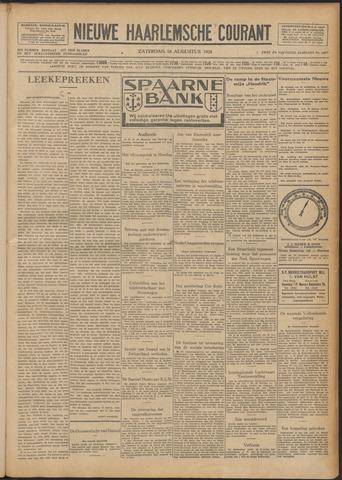 Nieuwe Haarlemsche Courant 1928-08-18