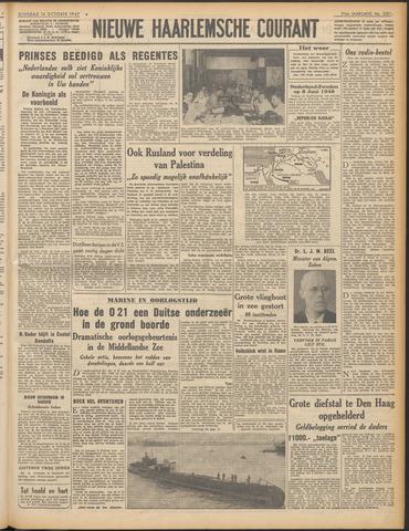 Nieuwe Haarlemsche Courant 1947-10-14