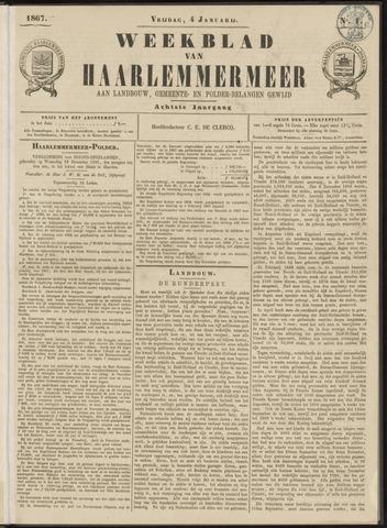 Weekblad van Haarlemmermeer 1867-01-04