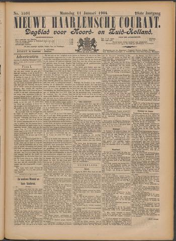 Nieuwe Haarlemsche Courant 1904-01-11