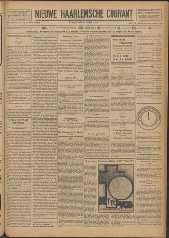 Nieuwe Haarlemsche Courant 1931-04-20