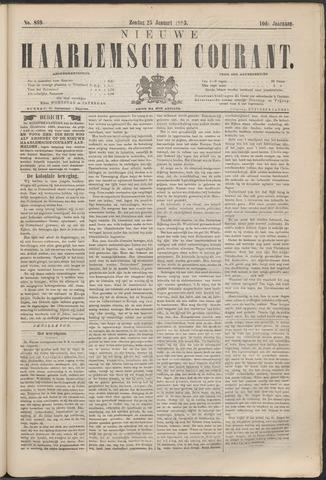 Nieuwe Haarlemsche Courant 1885-01-25