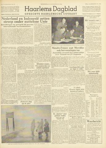 Haarlem's Dagblad 1954-08-11