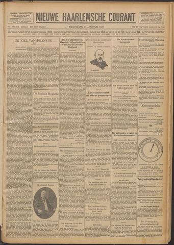 Nieuwe Haarlemsche Courant 1929-01-23