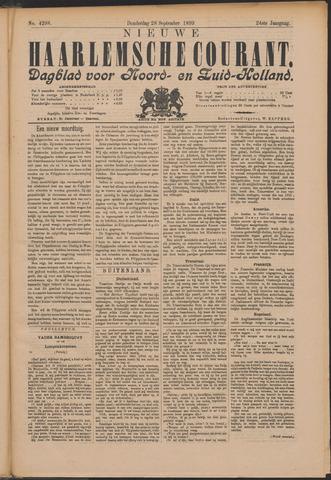 Nieuwe Haarlemsche Courant 1899-09-28