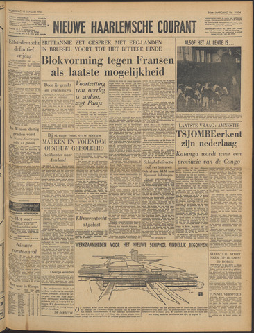 Nieuwe Haarlemsche Courant 1963-01-16