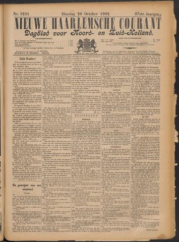 Nieuwe Haarlemsche Courant 1902-10-28