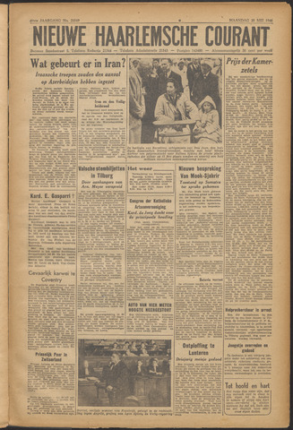 Nieuwe Haarlemsche Courant 1946-05-20