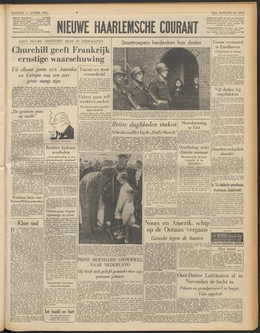 Nieuwe Haarlemsche Courant 1954-10-11
