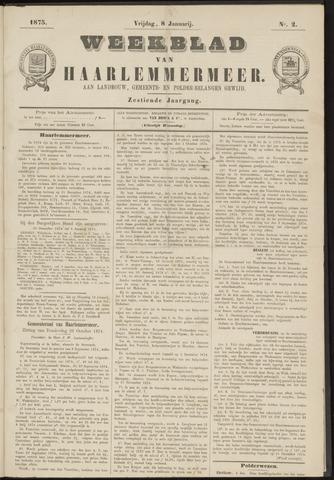 Weekblad van Haarlemmermeer 1875-01-08