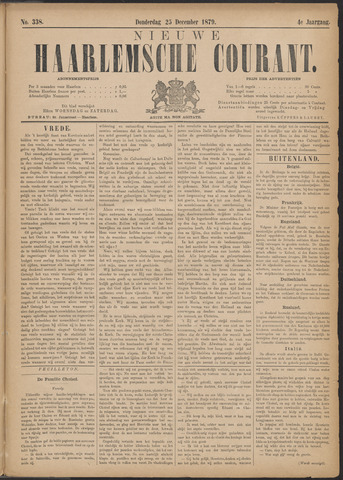 Nieuwe Haarlemsche Courant 1879-12-25