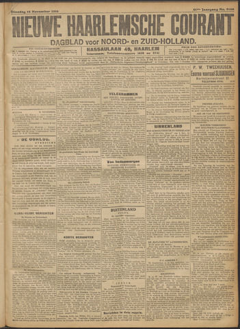 Nieuwe Haarlemsche Courant 1916-11-14