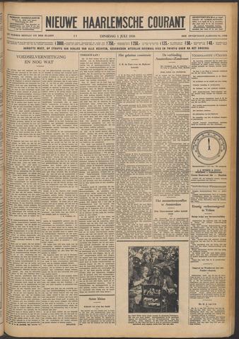 Nieuwe Haarlemsche Courant 1930-07-01