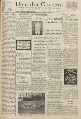 IJmuider Courant 1939-04-26