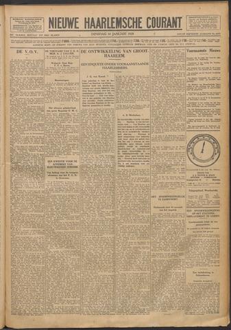 Nieuwe Haarlemsche Courant 1928-01-10