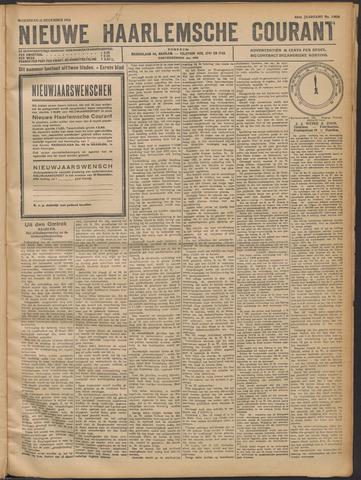 Nieuwe Haarlemsche Courant 1921-12-21