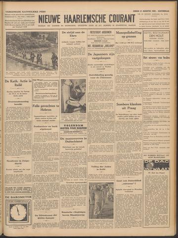 Nieuwe Haarlemsche Courant 1938-08-21