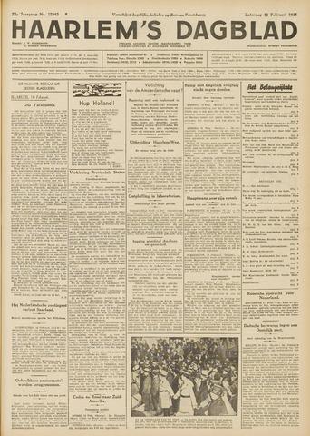 Haarlem's Dagblad 1935-02-16