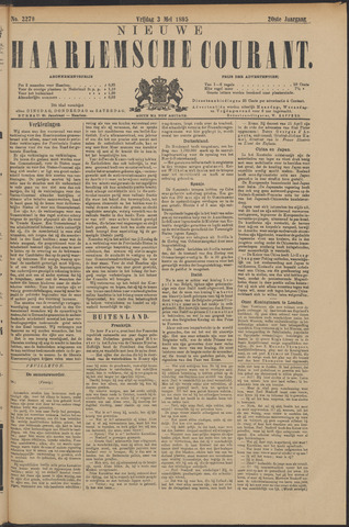 Nieuwe Haarlemsche Courant 1895-05-03