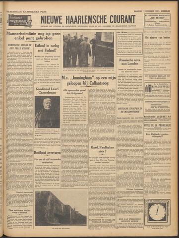 Nieuwe Haarlemsche Courant 1939-12-11