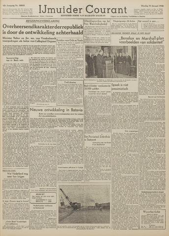 IJmuider Courant 1948-01-13
