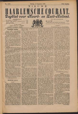 Nieuwe Haarlemsche Courant 1898-09-13