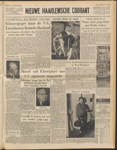 Nieuwe Haarlemsche Courant 1959-08-04