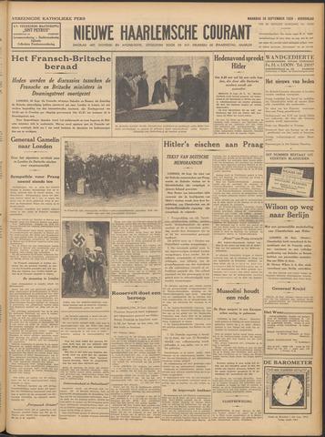 Nieuwe Haarlemsche Courant 1938-09-26