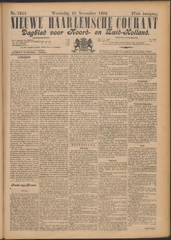 Nieuwe Haarlemsche Courant 1902-11-26