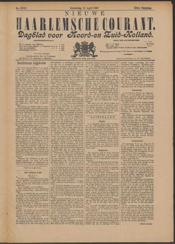 Nieuwe Haarlemsche Courant 1897-04-15
