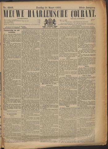 Nieuwe Haarlemsche Courant 1895-03-31