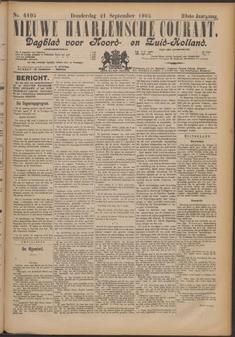 Nieuwe Haarlemsche Courant 1905-09-21