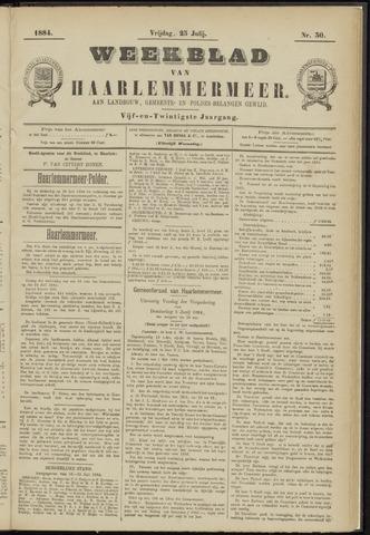Weekblad van Haarlemmermeer 1884-07-25