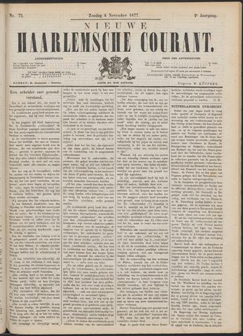 Nieuwe Haarlemsche Courant 1877-11-04
