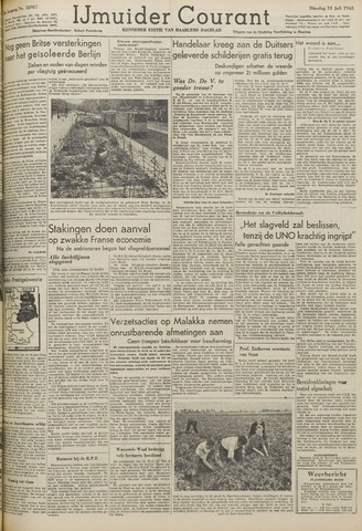 IJmuider Courant 1948-07-13
