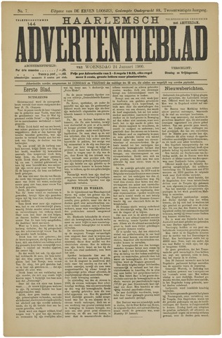 Haarlemsch Advertentieblad 1900-01-24